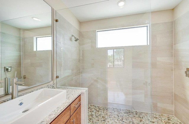 Quartz Engineered Stone Countertops Modern Bathroom Dallas By Texas Counter Fitters