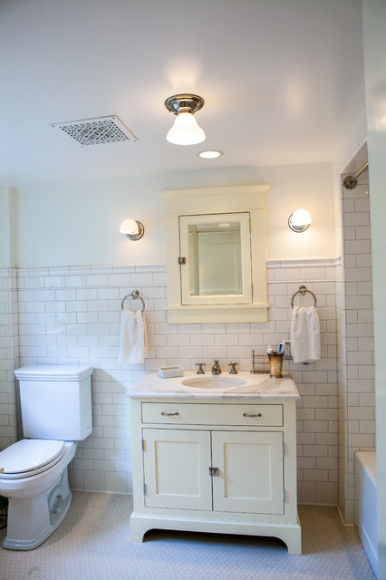 Superieur Queen Anne Basement Cabinets Craftsman Bathroom