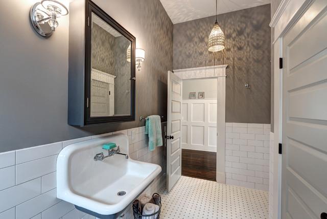 Queen Anne Wall Mounted Sink Kitchen
