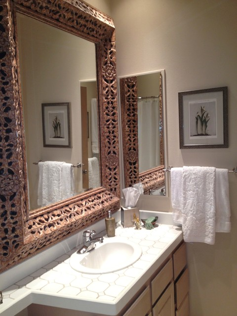 Queen anne condo contemporary bathroom seattle by for Queen bathroom decor