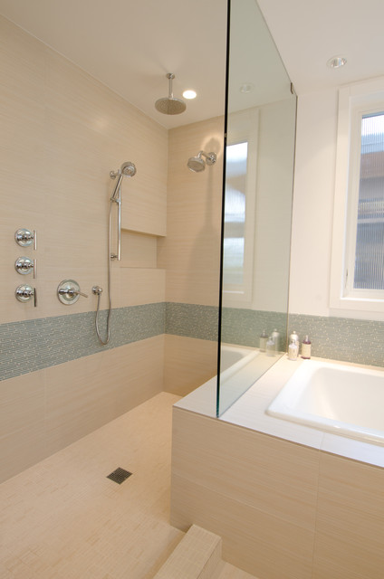 Queen Anne Residence contemporary bathroom