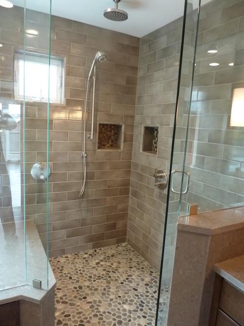 River Rock Tile For Bathrooms