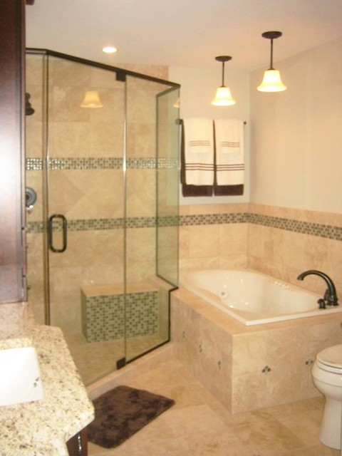 Queen en suite traditional bathroom chicago by for Queen bathroom decor