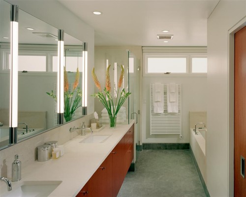 What kind of mirror vanity is that is it recessed queen village residence master suite bathroom more info aloadofball Choice Image