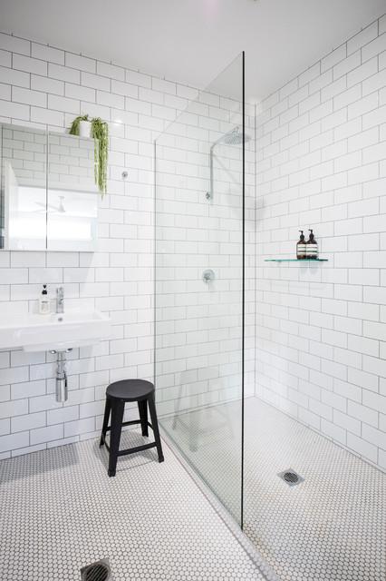 Queenslander renovation contemporary bathroom for Queenslander bathroom