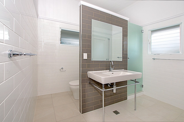 Bathroom Renovations Qld queenslander renovation- townsville - bathroom - townsville -