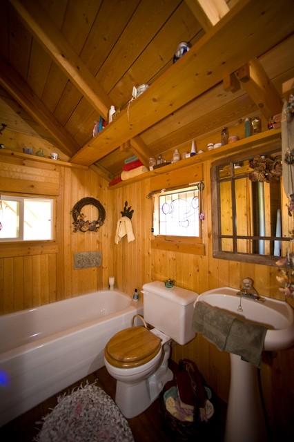 Quietude eclectic-bathroom