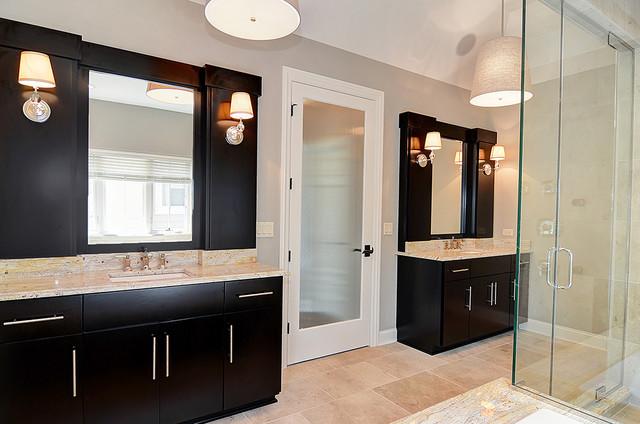 Quincy hinsdale illinois contemporary bathroom for Bathroom remodel quincy il