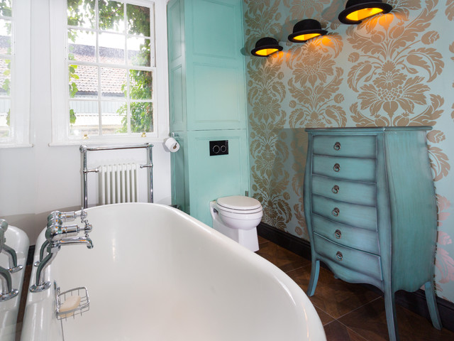 Quirky hoxton bathroom eclectic bathroom london by for Quirky interior accessories