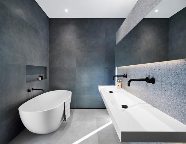 R+S residence modern-bathroom