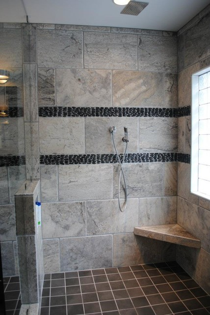 Rain Can Shower Head, Hand Held Shower And Body Sprays Traditional Bathroom