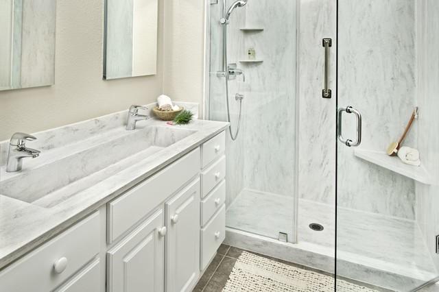 Rain Cloud Shower Contemporary Bathroom Sacramento