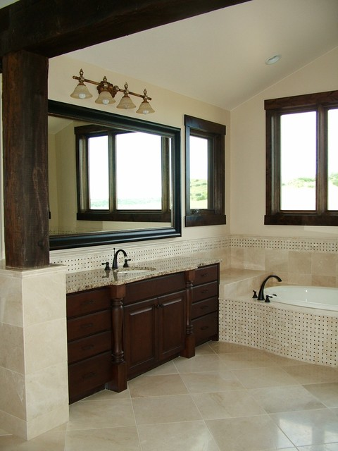 Raintree House traditional bathroom