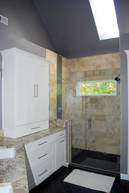 Raleigh bath remodel oversized shower traditional for Bath remodel raleigh