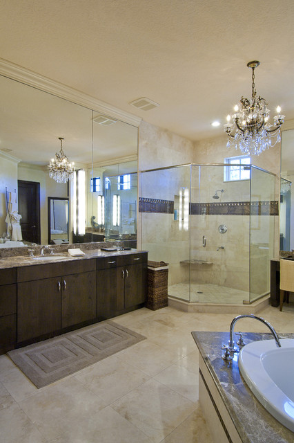 Ramos Design Build Corporation - Tampa mediterranean bathroom