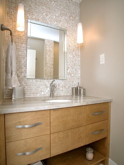 Ranch hall bath contemporary bathroom atlanta by for Modern ranch bathroom