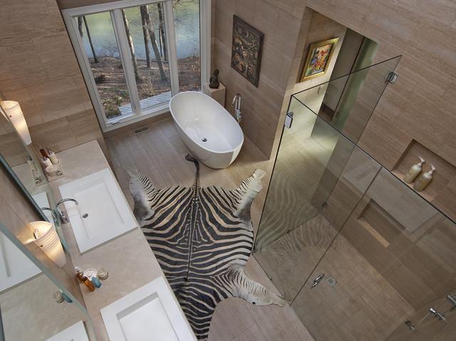 Ranch House Bathroom Renovation contemporary-bathroom
