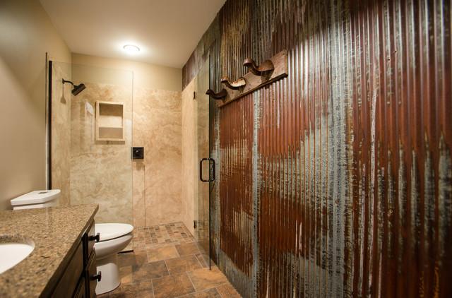Ranch Inspired Bathroom traditional-bathroom