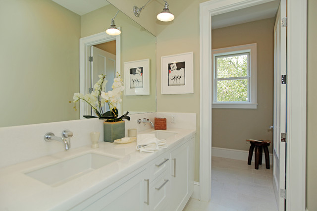 Ranch Lane contemporary bathroom