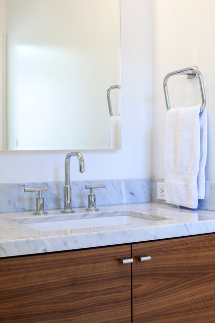 Ranch remodel contemporary bathroom other metro by for Modern ranch bathroom