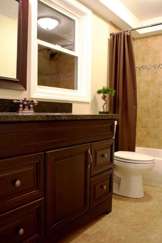 """Ranch Renovation"" Chelmsford, MA - Traditional - Bathroom ..."