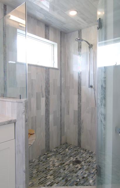 Ranch revival - Master Bathroom transitional-bathroom