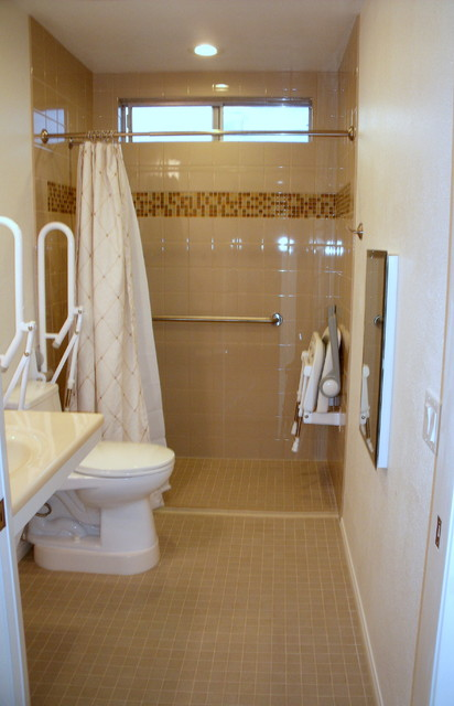 rancho bernardo accessible bathroom remodel contemporary bathroom
