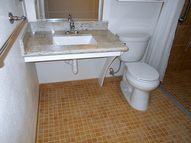Superbe Rancho Bernardo Wheelchair Accessible Sink Bathroom