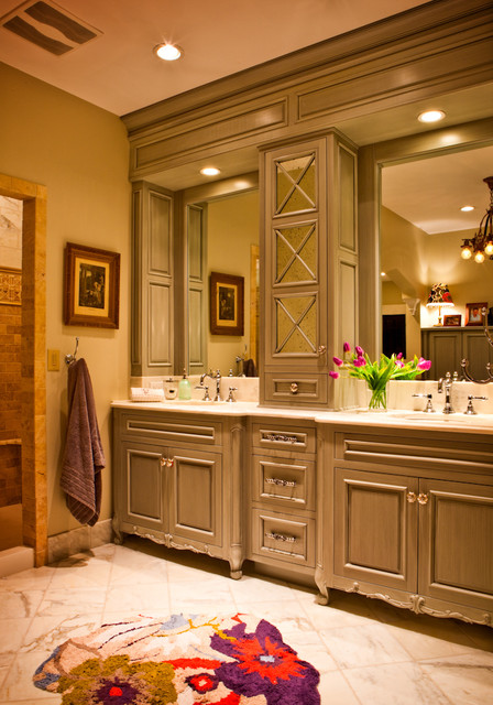 Rausch House - Traditional - Bathroom - st louis - by Karr Bick Kitchen and Bath