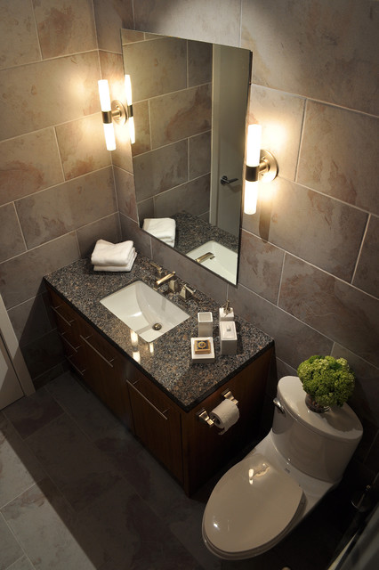 Raveninside Interior Design contemporary-bathroom