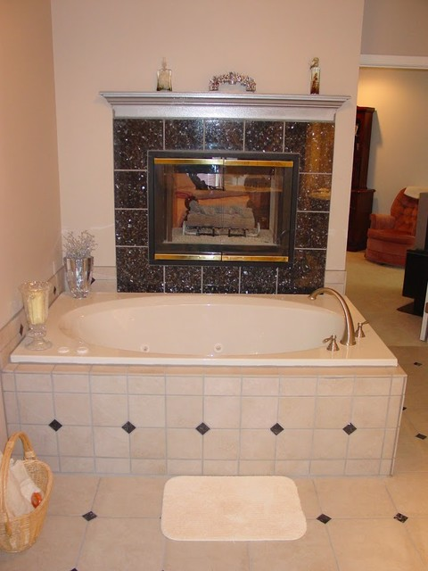 re plumbed whirlpool tub with roman tub faucet