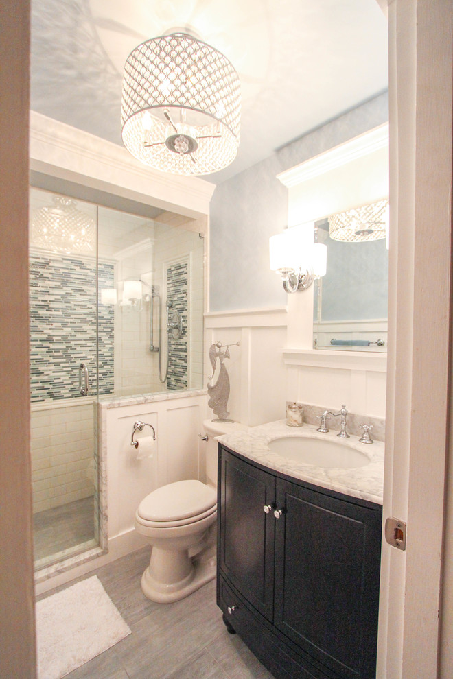 Reading Bathroom Remodel - Traditional - Bathroom ...