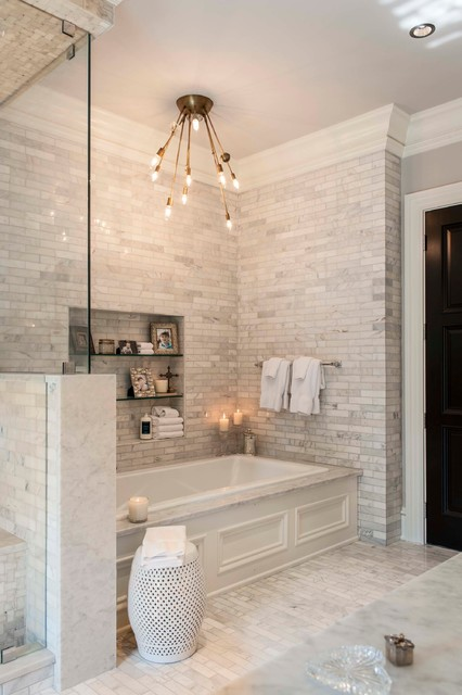Recent Work- Indiana Private Residence transitional-bathroom