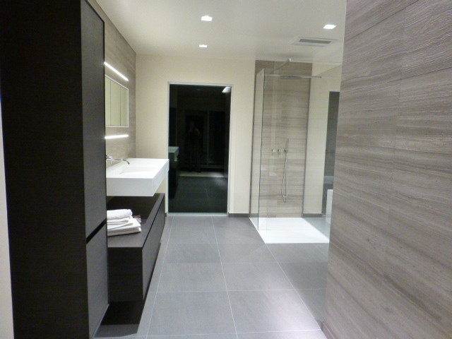 Http Www Houzz Com Photos 11760315 Recessed Led Strip And Trimless Led Recessed Lights Contemporary Bathroom San Francisco