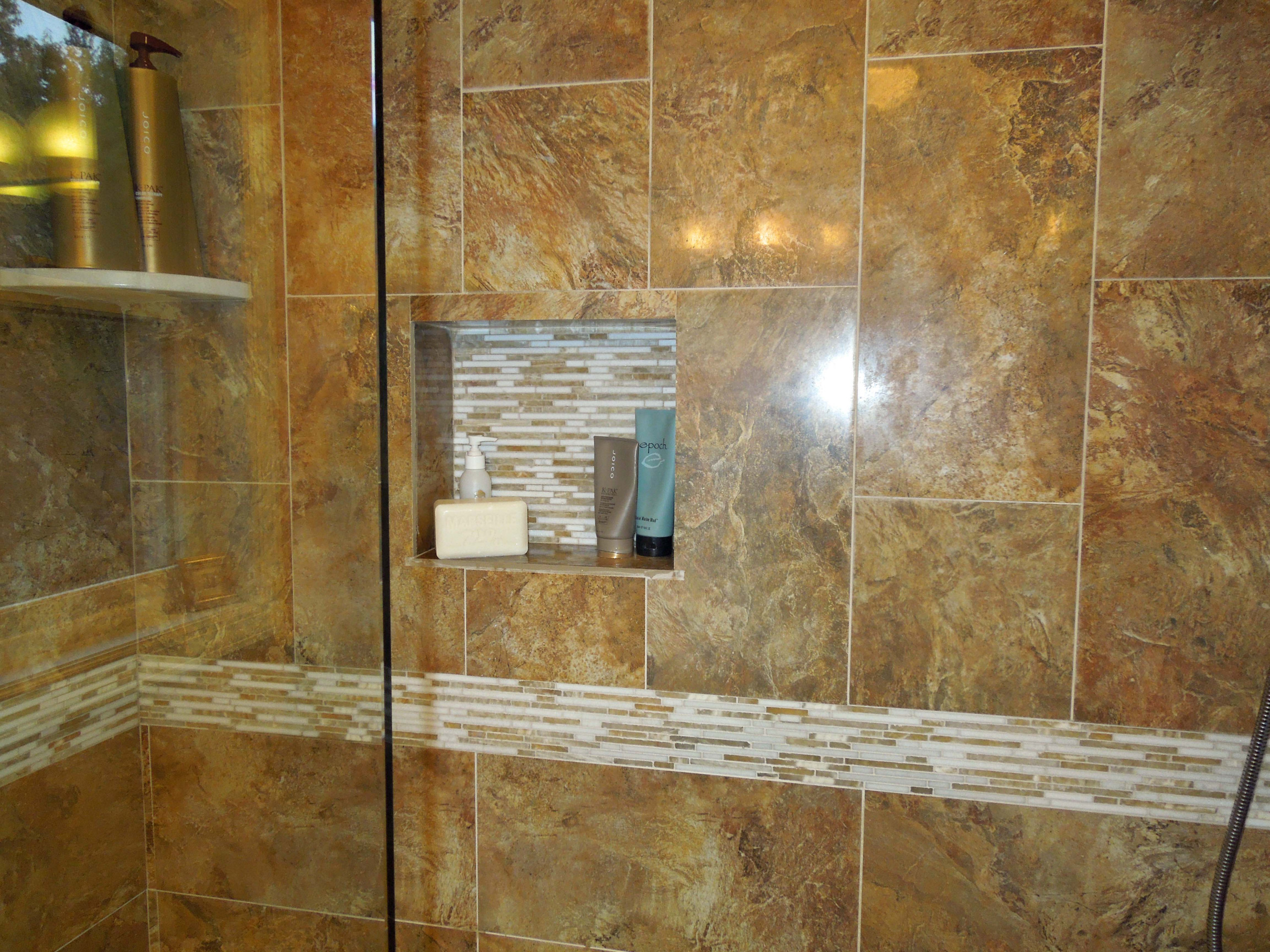 Recessed Niche and Accent Tile