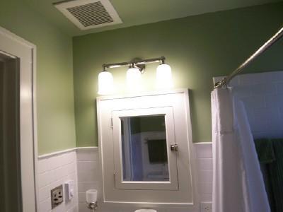Recessed vintage medicine cabinet traditional-bathroom