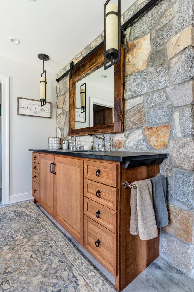 Reclaimed Rustic Barn Door Mirror Medicine Cabinet ...