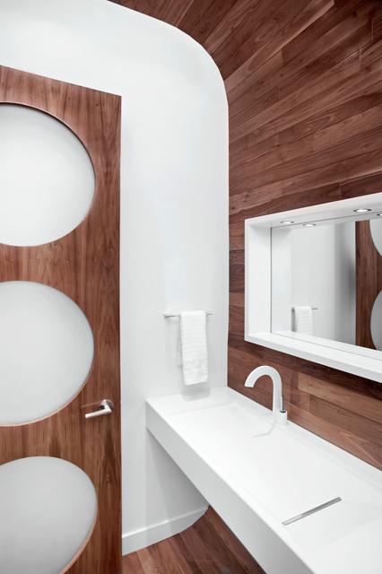 Rectangle moderno stanza da bagno calgary di - Stanze da bagno moderne ...