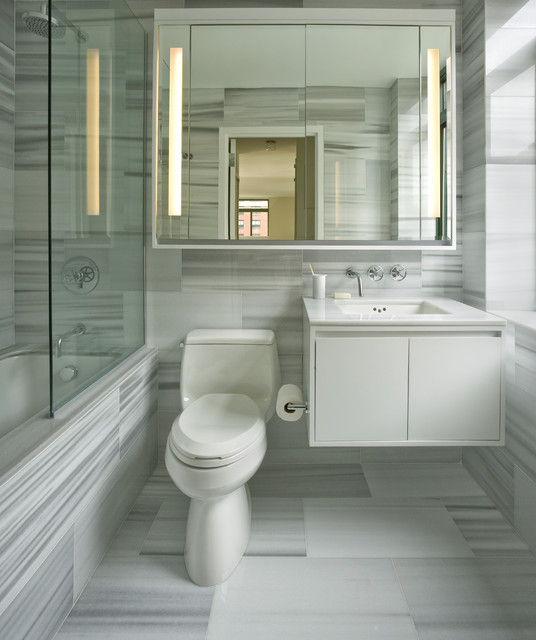 Transitional Bathroom By Incorporated