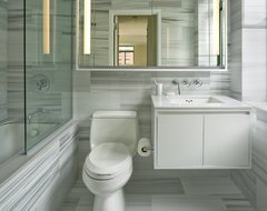 Rector Square transitional-bathroom