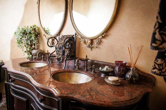 Red Dragon Granite Double Bowl Vanity Top traditional bathroom. Red Dragon Granite Double Bowl Vanity Top   Traditional   Bathroom