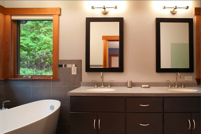 Red Hill contemporary-bathroom