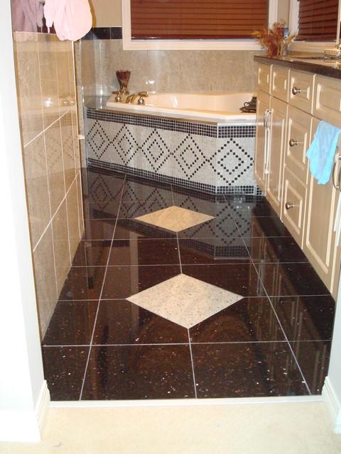 Redesigned Floor modern-bathroom