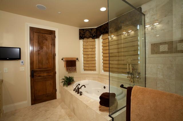 Redmond Custom traditional-bathroom