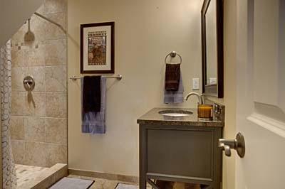 Redmond Remodel 1 Basement eclectic-bathroom