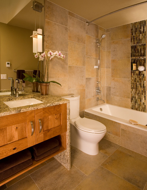 Redmond small bath remodel traditional bathroom for Small bathroom design houzz