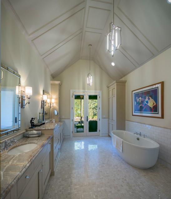 Reeds lake english tudor revival traditional bathroom for Tudor bathroom design