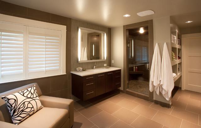 Refined bath contemporary bathroom boise by strite for Bath remodel boise