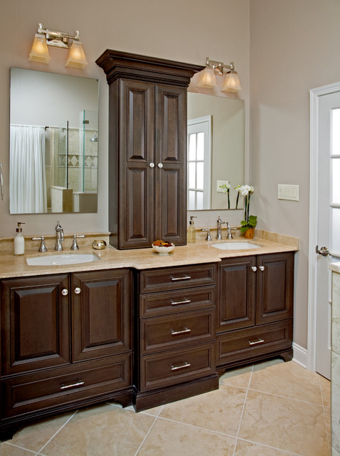 Elegant master bathroom ideas modern diy art designs for Master bathroom cabinet designs
