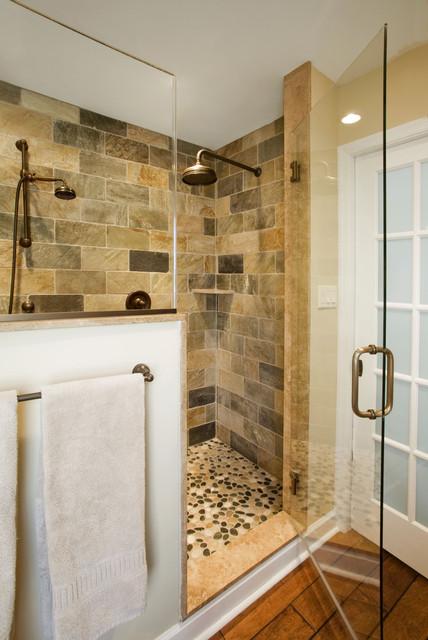Refined Rustic Master Bath Remodel Ambler Pa Traditional